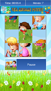 Cartoon Jigsaw drag puzzle - screenshot thumbnail