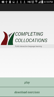 FLAX Completing Collocations - náhled