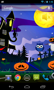 Halloween Live Wallpapers Free- screenshot thumbnail