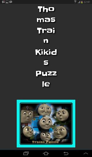 Thomas Train Kids Puzzle