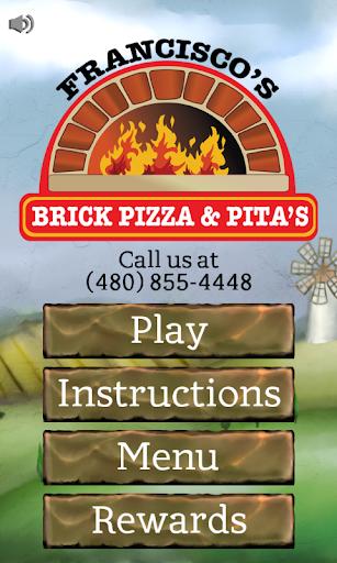Francisco's Brick Pizza Game