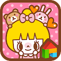 Pretty Girl, Yelly Dodol Theme icon