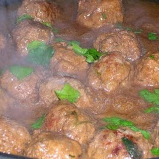 Veal Marsala Meatballs.