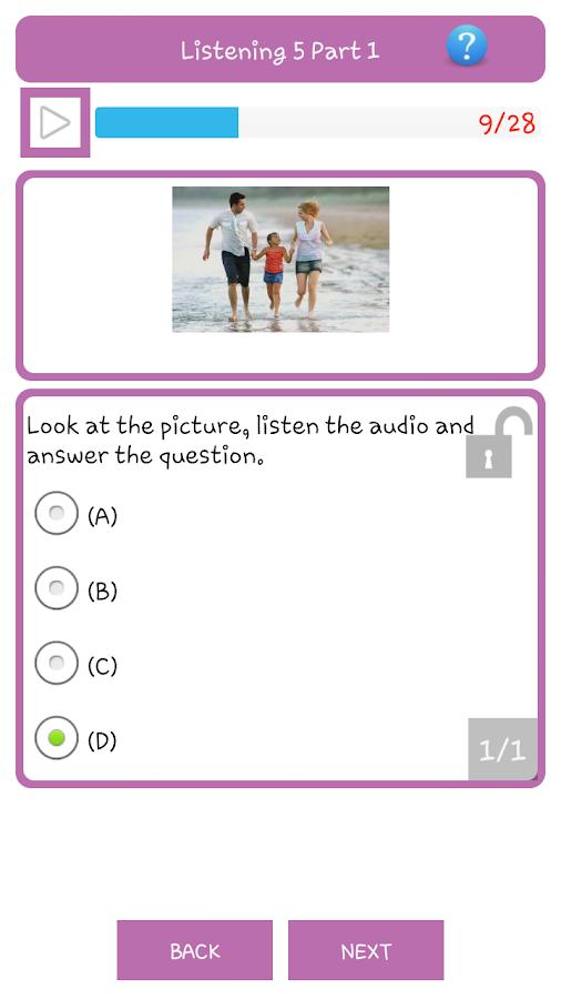 Simple Toeic - screenshot