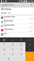 Screenshot of My Currency Converter