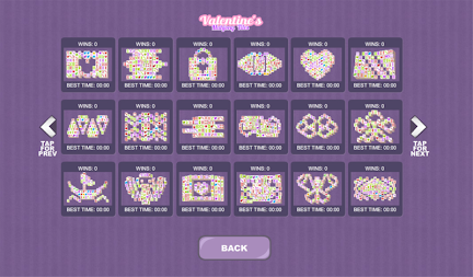 Valentine's Mahjong Tiles APK screenshot thumbnail 3