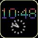 Rainbow LED Clock (Mix)