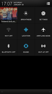 CM11 CM10 HTC One Sense theme- screenshot thumbnail