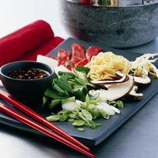 Shabu-Shabu Steak with Noodles Recipe