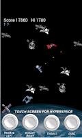 Screenshot of Space Junk & Asteroid Blaster