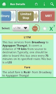 Chennai MTC Info - screenshot thumbnail