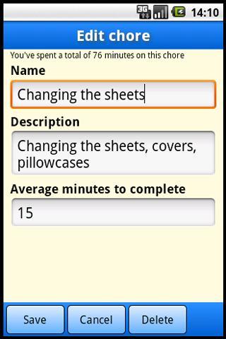 Chore Master Pro - screenshot