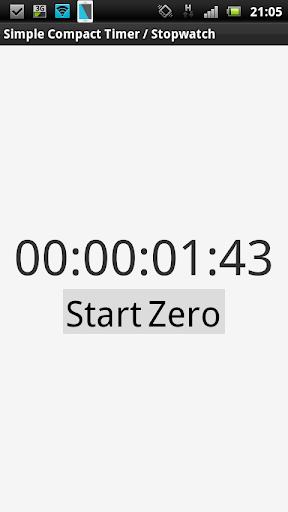 玩免費工具APP|下載Simple Compact Timer Stopwatch app不用錢|硬是要APP