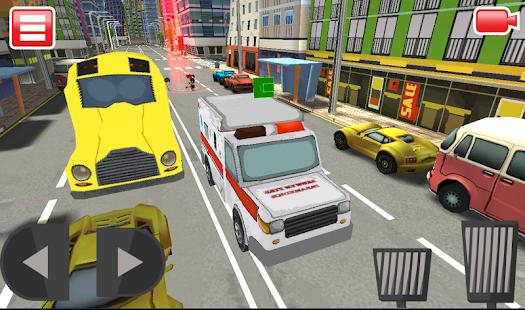 3D Ambulance Simulator 2