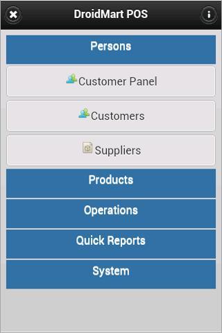 DroidMart Sales System