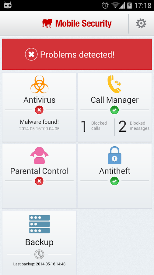 Mobile Security and Antivirus - screenshot
