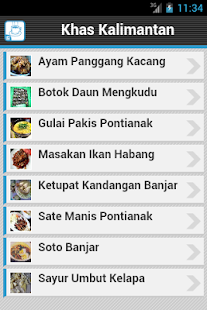 Resep Masakan Kalimantan - screenshot thumbnail
