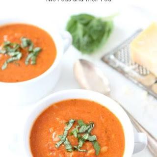 Creamy Tomato Orzo Soup.