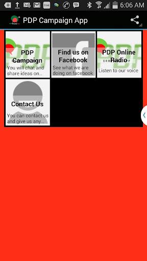 PDP Campaign App