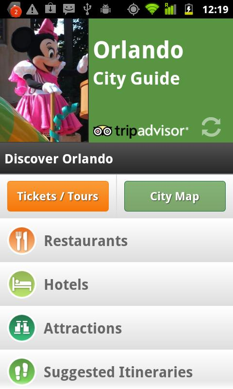 Orlando City Guide - screenshot