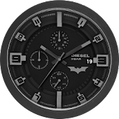 Batman Diesel Clock Live WP