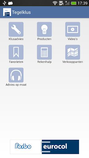 eurocol tegelklus app