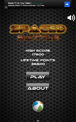 Spaced Battle Arcade Shooter
