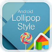 Lollipop LINE Launcher theme
