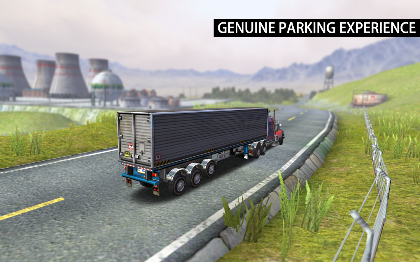 American Trucks 3D Parking- screenshot