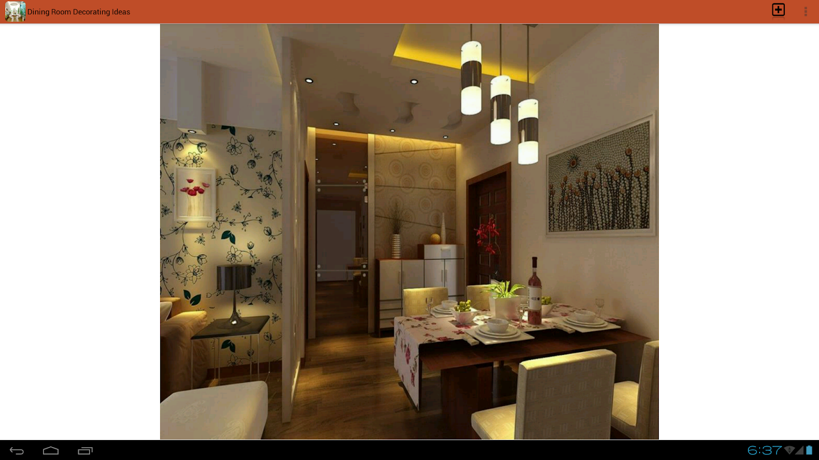 Dining room decorating ideas android apps on google play Room makeover app