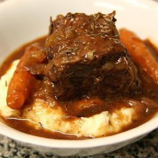 Crockpot Beef Short Ribs.
