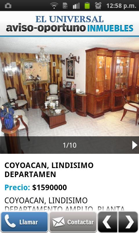 Aviso Oportuno Inmuebles - screenshot