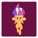 Scootaloo's Scooter Scooting icon