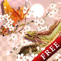 Dragon Suzaku Sakura Free icon