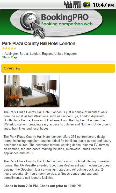 Cheap hotels, hotel & hostels - screenshot
