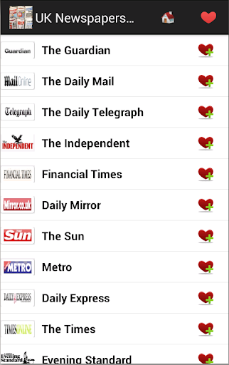 英国的报纸和新闻