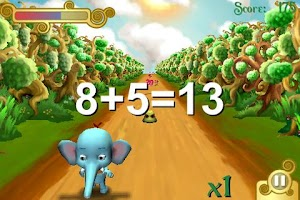 Screenshot of Trunky learns numbers