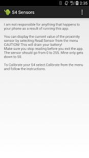 S4 Sensors [Requires Root ]