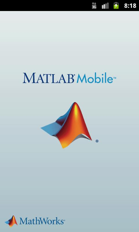 MATLAB Mobile - screenshot