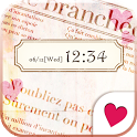Cute wallpaper★sweet journal icon