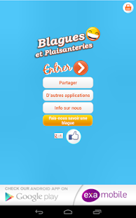 Blagues et Plaisanteries - screenshot thumbnail