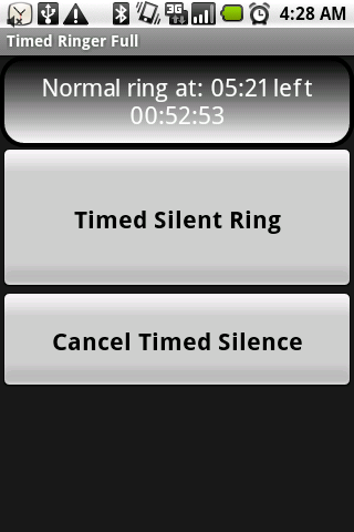 Timed Ringer Silencer Full- screenshot