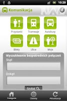 Screenshot of Wroclaw City Guide