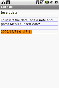 OI Insert Date Screenshot 4