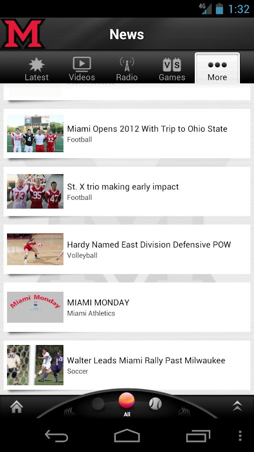 Miami RedHawks: Free - screenshot