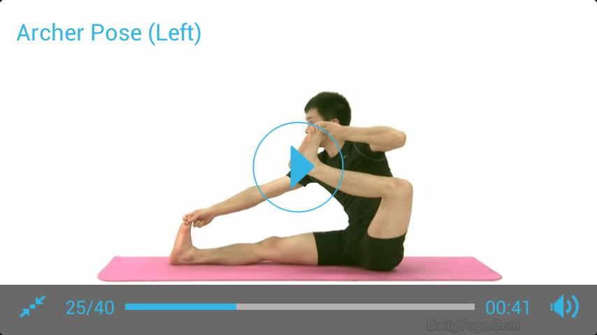 Seated Yoga Routine - screenshot