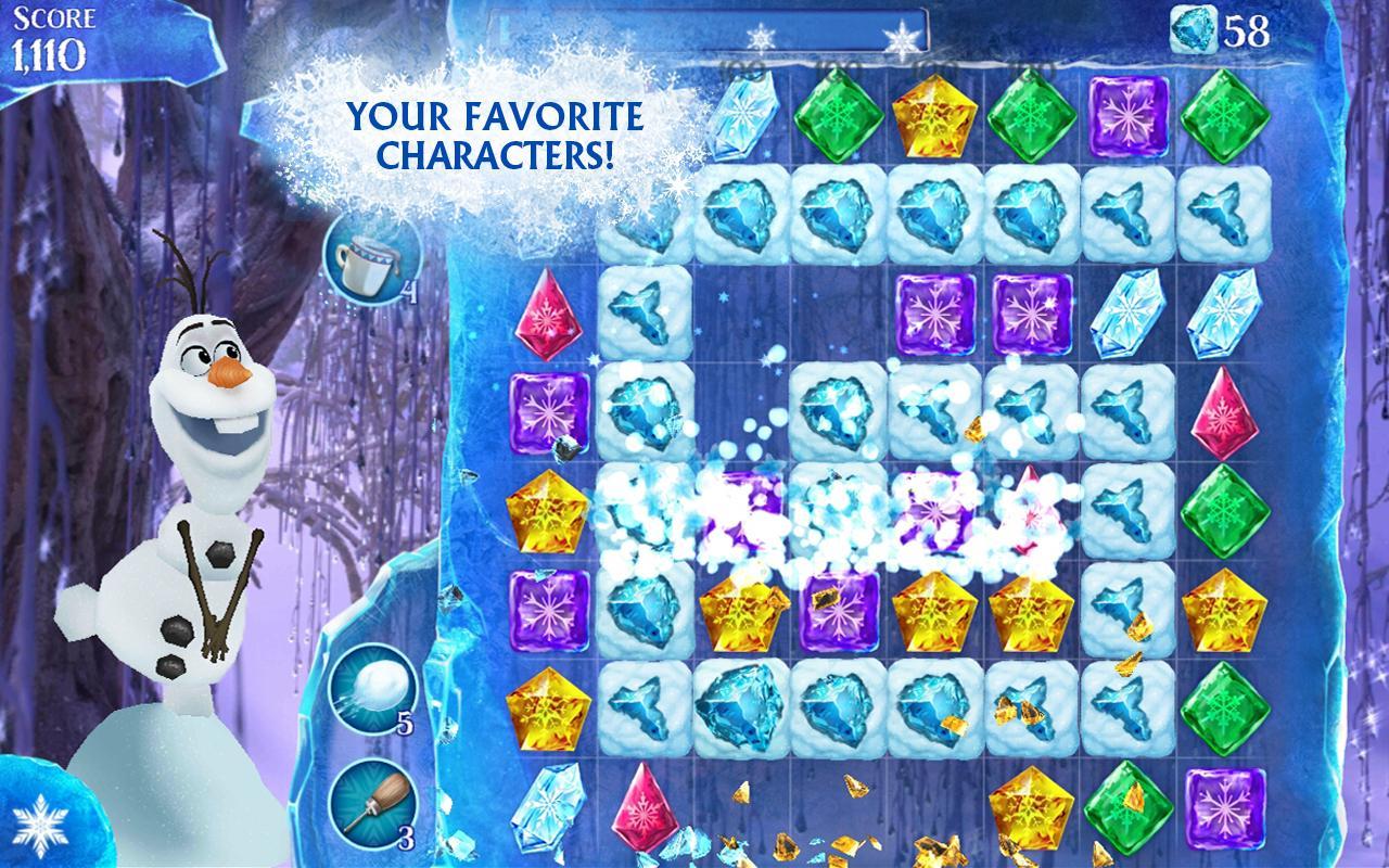 Frozen Free Fall - screenshot