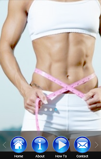 女子30天腹肌收緊