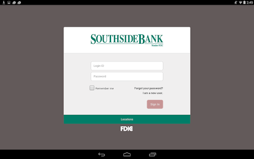 Southside Bank - screenshot thumbnail