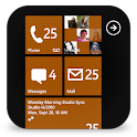 GOSMS WP8 Brown Theme
